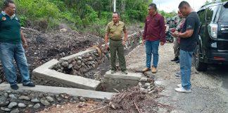 Baru Selesai Dikerjakan, Drainase di Desa Egon Sudah Jebol