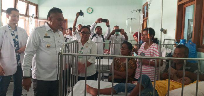 Sikka Diserang DBD, Bupati 3 Jam di Rumah Sakit