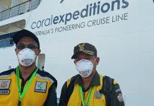 51 Wisman dan 36 ABK Coral Adventurer Bebas Corona