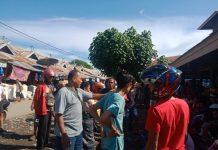 Tentara Bubarkan Sabung Ayam di Pasar Alok