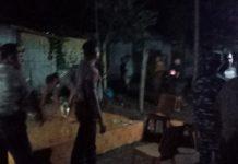 Tim Gabungan Bubarkan Pesta Miras di Kelurahan Kabor