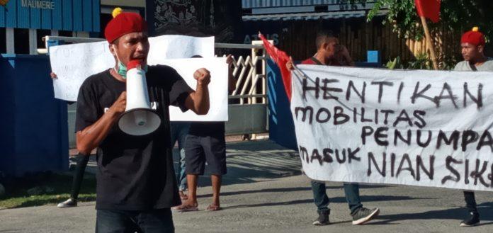 Kelompok Cipayung Desak Pemkab Sikka Lakukan Karantina Terpusat Penumpang Lambelu