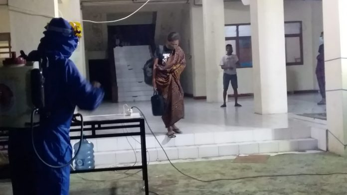 Gara-Gara Syukuran Adat, 88 Warga Baokremot Jalani Rapid Test