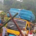 Ini Alasan Kades Hikong Tutup Jalan Negara