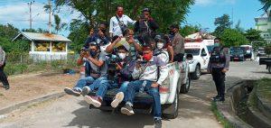 Jenazah Pasien Probable Covid Dibawa ke Watubala untuk Dimakamkan