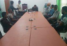 Tukang dan Buruh Puskesmas Bola Adukan Kontraktor Pelaksana ke DPRD Sikka