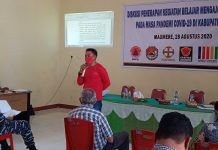 Dinas PKO Sikka Belum Sosialisasikan Rencana KBM Tatap Muka di Masa Pandemi Covid-19