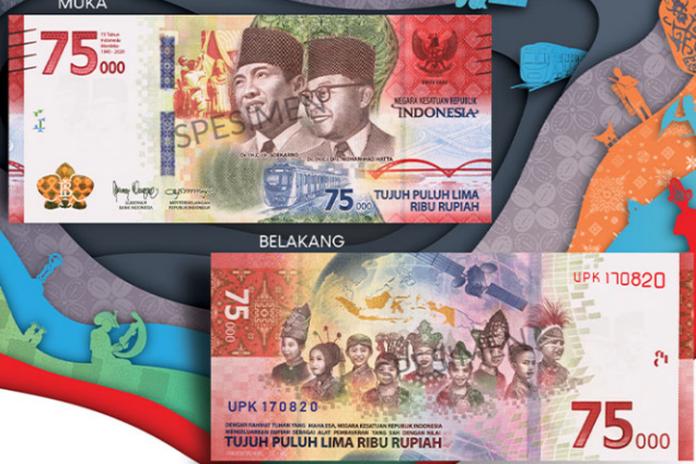 Sambut HUT RI, Bank Indonesia Terbitkan Uang Rp 75.000