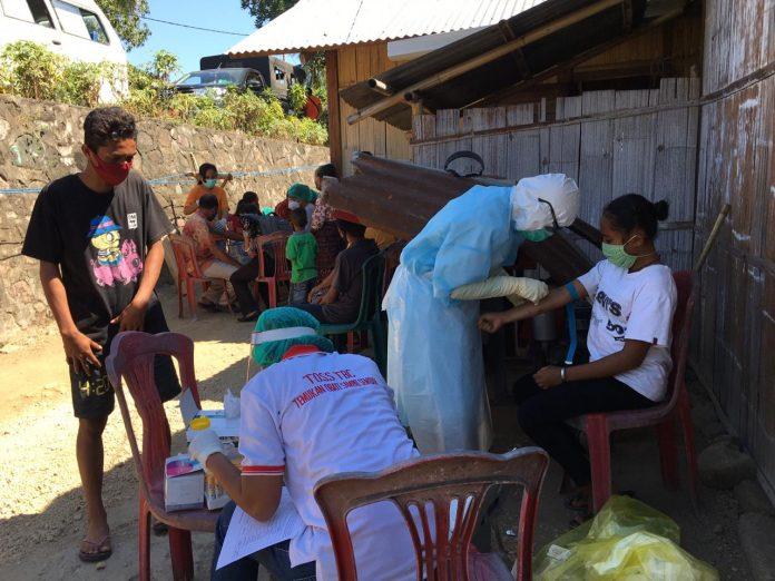 Kontak Erat dengan Pasien Positip Corona asal Nagekeo, 50 Orang di Bola Jalani Rapid Test