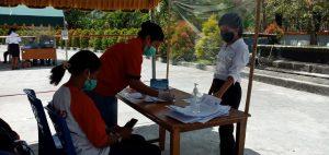 Protokol Kesehatan Perketat SKB CPNSD di Sikka