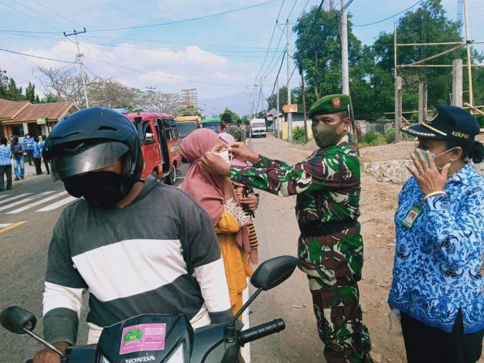 Tentara Berang, Masih Banyak Warga Tidak Pakai Masker