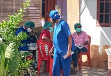 Heboh di Kota Uneng, Tim Medis Datangi Rumah Warga Positip Corona