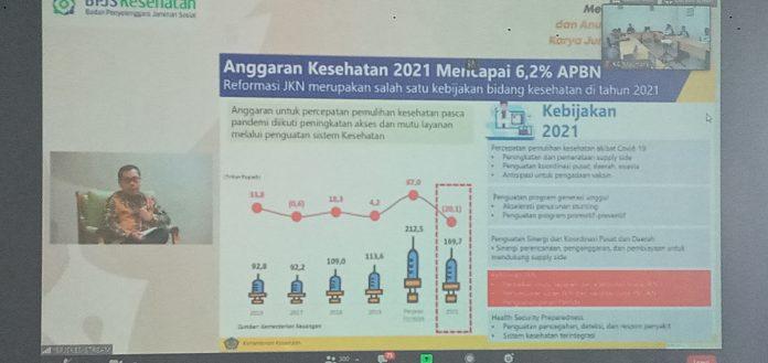 Anggaran Kesehatan 2021 Mencapai 6,2 Persen APBN
