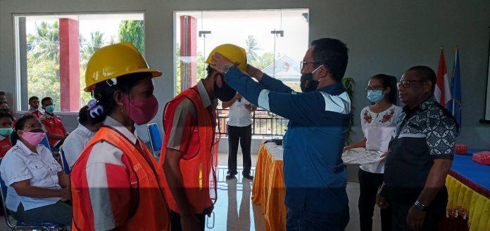 47 Pelajar SMKN 1 Maumere PKL pada Proyek Bendungan Napung Gete
