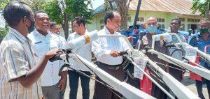 Yulie Laiskodat Bantu Alsintan Senilai Rp 1,4 Miliar untuk 19 Gapoktan di Sikka