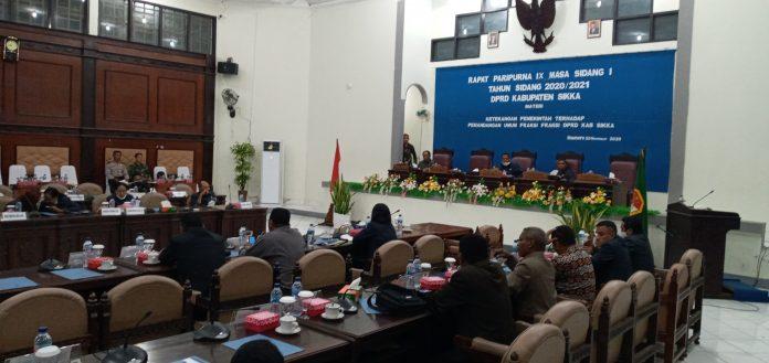 Sidang Paripurna Ditunda, Bupati Sikka Tidak Hadir, Anggota DPRD