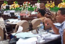 Perjuangkan Infrastruktur Jalan di Tanawawo, Anton Bata Pukul Meja Ruang Banggar