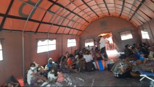 2.782 Pengungsi Ile Lewotolok Tersebar pada 6 Lokasi