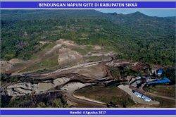 Proyek Bendungan Napung Gete Sudah Capai 89 Persen