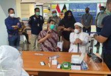 Akhirnya Rizieq Shilbab Datangi Polda Metro Jaya