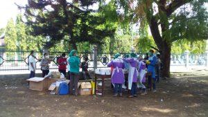 Ribuan Pengungsi Ile Lewotolok Jalani Rapid Test Massal