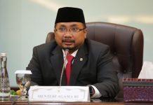 Menteri Agama Sambut Suka Cita Natal