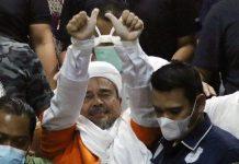 Rizieq Shihab Resmi Ditahan