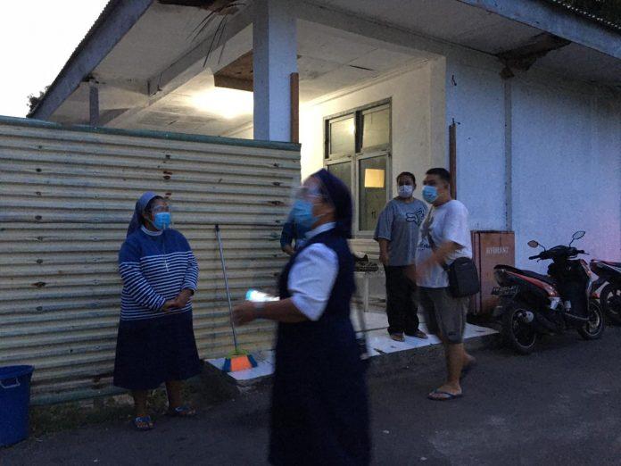 Biarawan Pertama Kongregasi SSpS di Indonesia, Meninggal di Ruang Isolasi TC Hillers