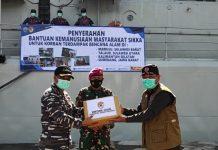 Masyarakat Sikka Bantu Korban Bencana Alam di 4 Propinsi