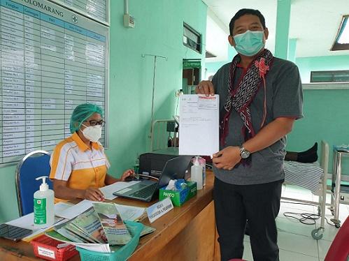 BPJS Kesehatan Maumere Dukung Penuh Vaksinasi di Sikka