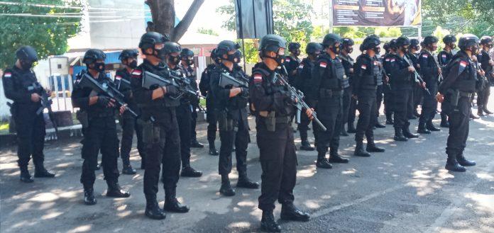 209 Polisi di Maumere Siaga Kunjungan Presiden Jokowi
