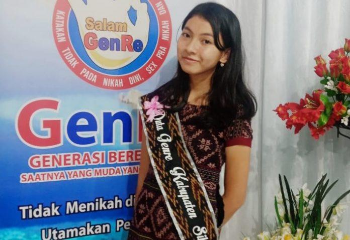 Siswi SMPK Frater Maumere Raih Juara Tiga Duta GenRe Sikka