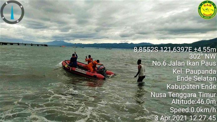 Kecelakaan Laut di Ende, 23 Selamat, 1 Bayi Meninggal