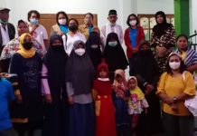 Bawa Puluhan Takjil, Anak-Anak Purnawirawan Polisi Buka Puasa Bersama Penghuni Panti Asuhan