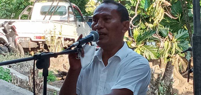 Flori Mekeng Resmi Deklarasi Calon Bupati Sikka